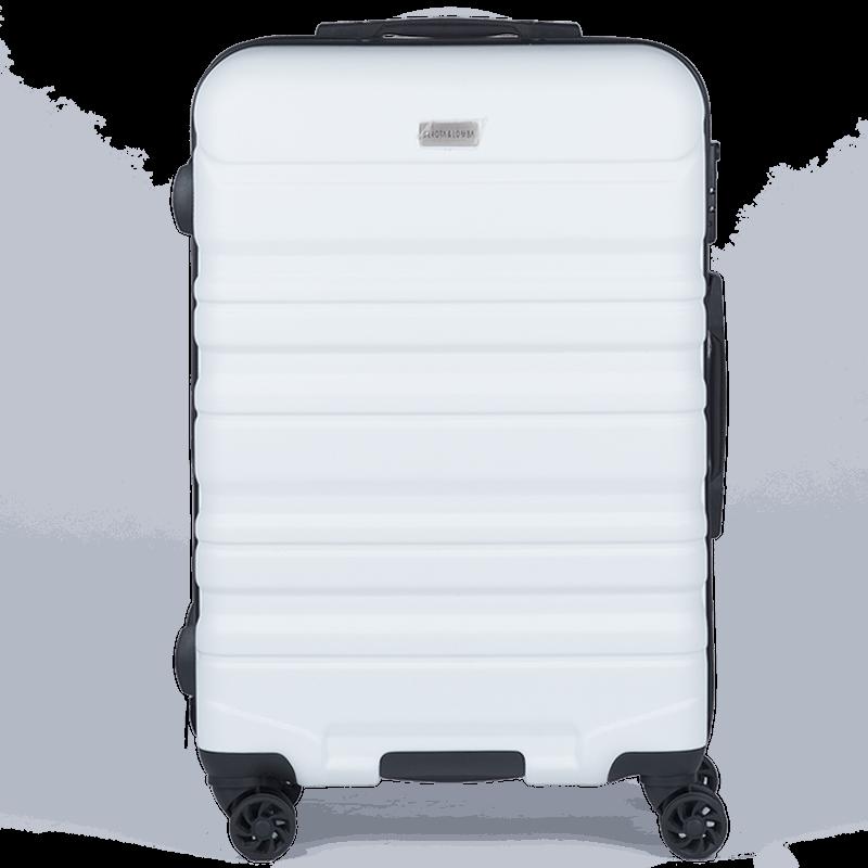 maleta devota & lomba white grande